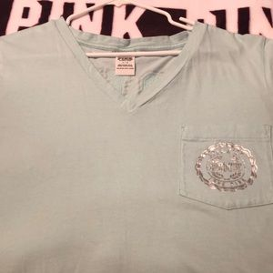 PINK Victoria's Secret V-neck Tee Shirt